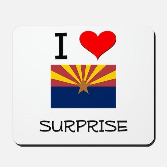 I Love Surprise Arizona Mousepad