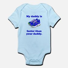 My Daddy Is Faster Body Suit