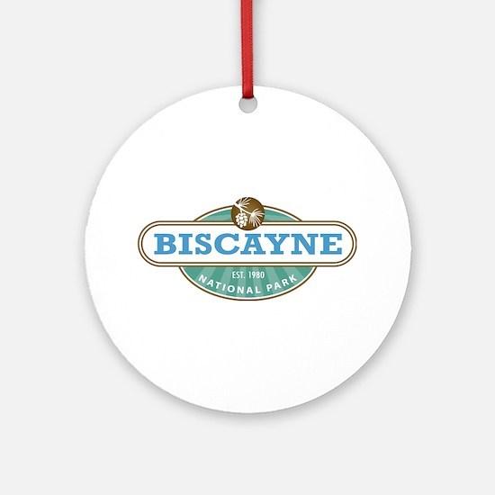 Biscayne National Park Ornament (Round)