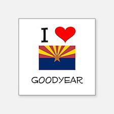 I Love Goodyear Arizona Sticker
