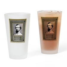 Bronze Plaque - Nathan Bedford Forrest Drinking Gl