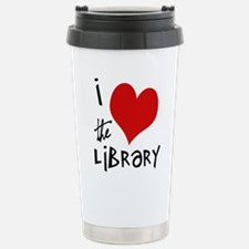 Library Love Travel Mug