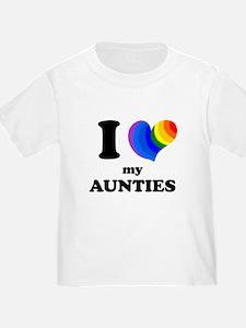 I Heart My Aunties T-Shirt