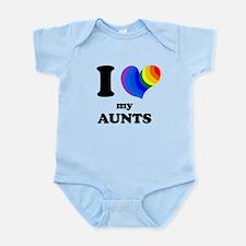 I Heart My Aunts Body Suit