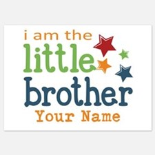 I am the Little Brother 5x7 Flat Cards
