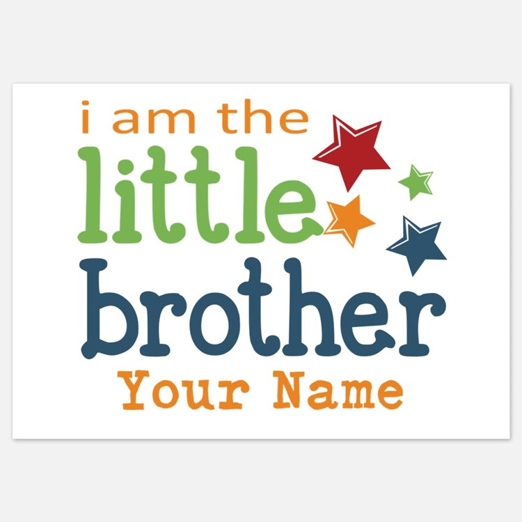 I am the Little Brother Invitations