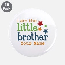 "I am the Little Brother 3.5"" Button (10 pack)"