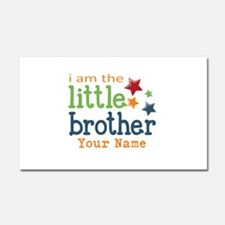 I am the Little Brother Car Magnet 20 x 12