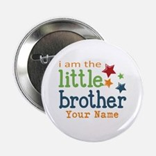"I am the Little Brother 2.25"" Button"