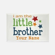 I am the Little Brother Rectangle Magnet