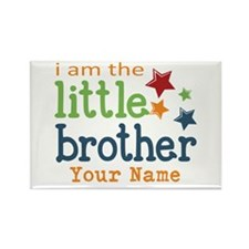 I am the Little Brother Rectangle Magnet (10 pack)