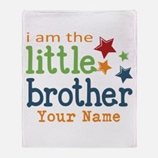 I am the Little Brother Throw Blanket