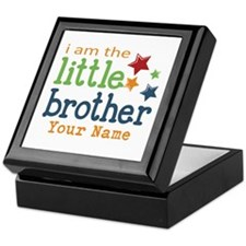 I am the Little Brother Keepsake Box