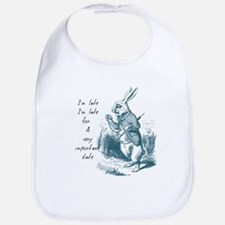 Late Rabbit Bib
