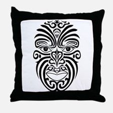 AbOriginalzc Maori Moko Throw Pillow