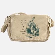 Late Rabbit Messenger Bag