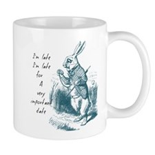 Late Rabbit Mugs