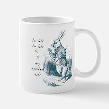 Late Rabbit Mugs