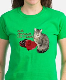 Cats and chocolate T-Shirt
