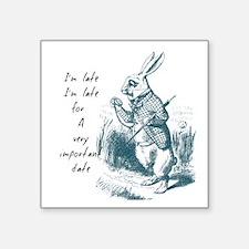 Late Rabbit Sticker