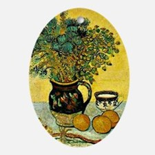 Van Gogh - Still Life Majolica Jug w Oval Ornament