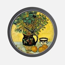 Van Gogh - Still Life Majolica Jug with Wall Clock