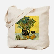 Van Gogh - Still Life Majolica Jug with W Tote Bag