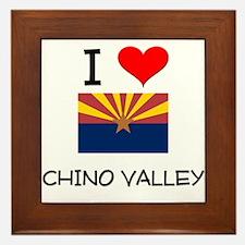 I Love Chino Valley Arizona Framed Tile