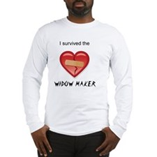 widow maker design Long Sleeve T-Shirt