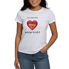 widow maker design Tee