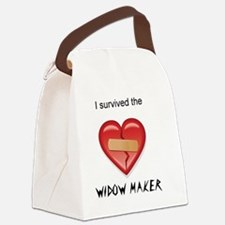 widow maker design Canvas Lunch Bag