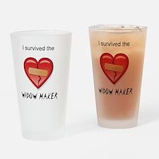 widow maker design Drinking Glass