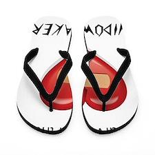 widow maker design Flip Flops