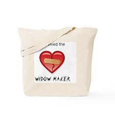 widow maker design Tote Bag