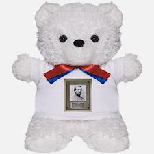 Bronze Plaque - John S. Mosby Teddy Bear