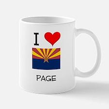 I Love Page Arizona Mugs