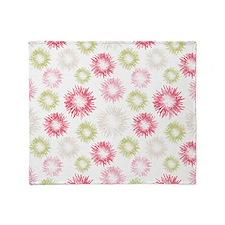 Pastel Pattern Throw Blanket