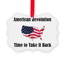 American Revolution Ornament