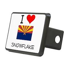 I Love Snowflake Arizona Hitch Cover