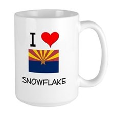 I Love Snowflake Arizona Mugs