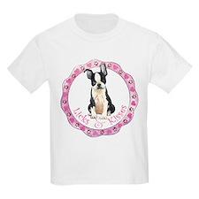Boston Terrier Valentine T-Shirt