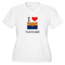 I Love Thatcher Arizona Plus Size T-Shirt