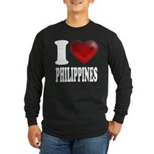 I Heart Philippines Long Sleeve T-Shirt