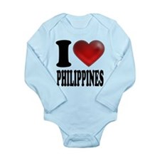 I Heart Philippines Body Suit