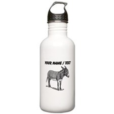 Custom Mule Sketch Water Bottle