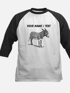 Custom Mule Sketch Baseball Jersey