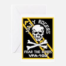 Fear the Bones Greeting Card