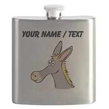 Custom Cartoon Mule Flask