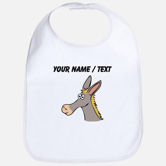 Custom Cartoon Mule Bib