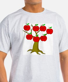 Family Tree Occupations T-Shirt